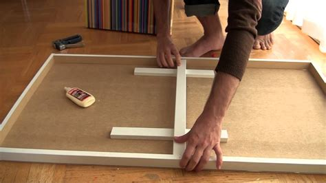 How To Make A Wood Panel Picture Frame