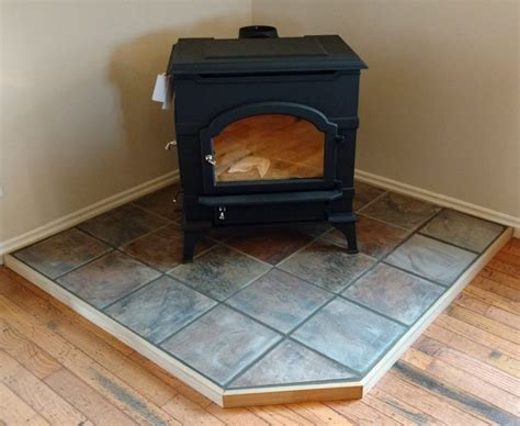 How To Make A Wood Stove Pad