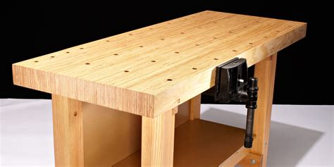 How To Make A Wood Workbench Solid