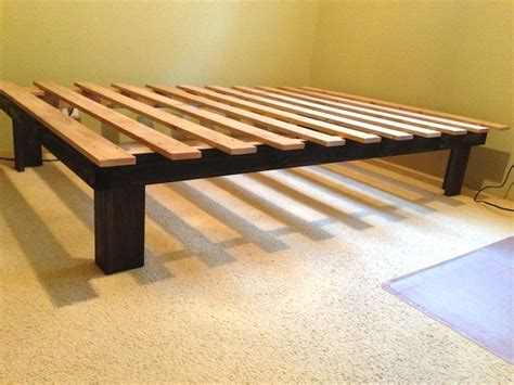 How To Make A Wooden Bed Frame Easy