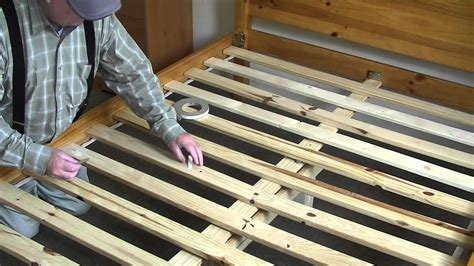 How To Make A Wooden Bed Frame Stop Squeaking