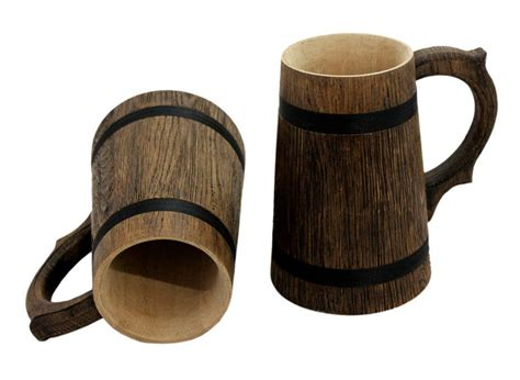 How To Make A Wooden Beer Tankard