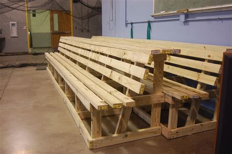 How To Make A Wooden Bench For Baseball Field