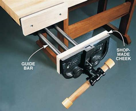 How To Make A Wooden Bench Vice