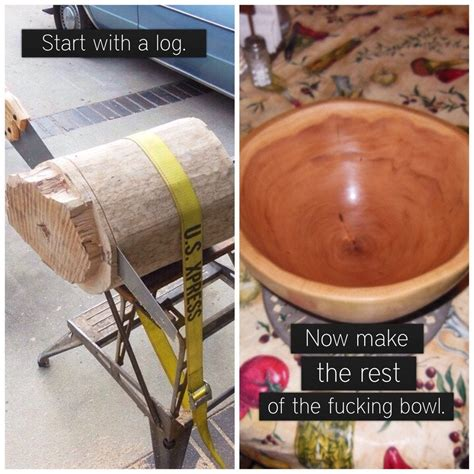 How To Make A Wooden Bowl From A Logical Point
