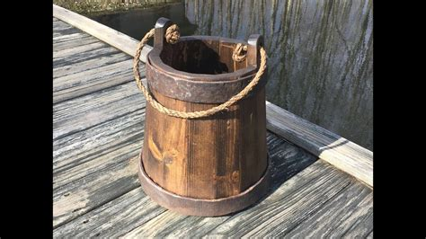 How To Make A Wooden Bucket Youtube