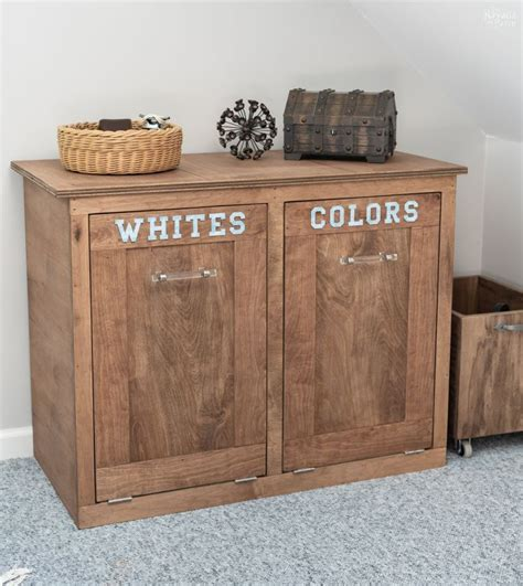 How To Make A Wooden Cabinet Clothes Hamper