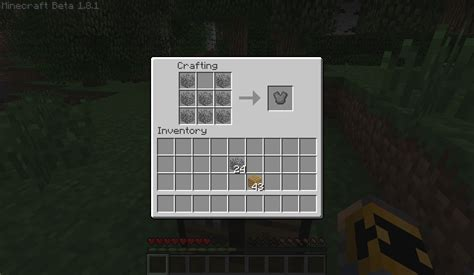How To Make A Wooden Chest Plate In Minecraft