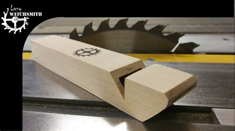 How To Make A Wooden Coach Whistle Youtube
