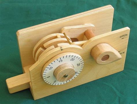 How To Make A Wooden Combination Lock