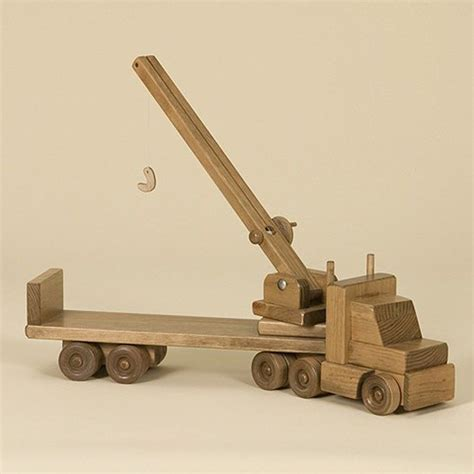 How To Make A Wooden Crane Truck