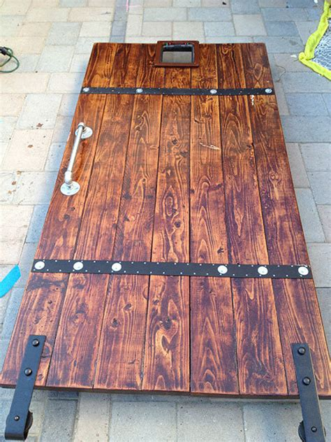 How To Make A Wooden Door Out Of 2x6 Lumber