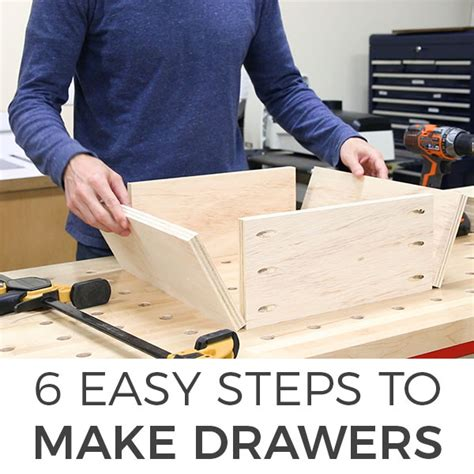 How To Make A Wooden Drawer Cabinet
