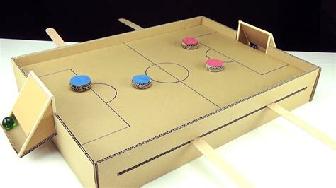 How To Make A Wooden Football Game
