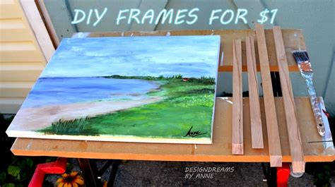 How To Make A Wooden Frame For A Canvas Painting