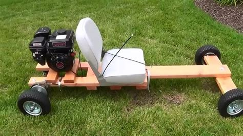 How To Make A Wooden Frame For A Go Kart