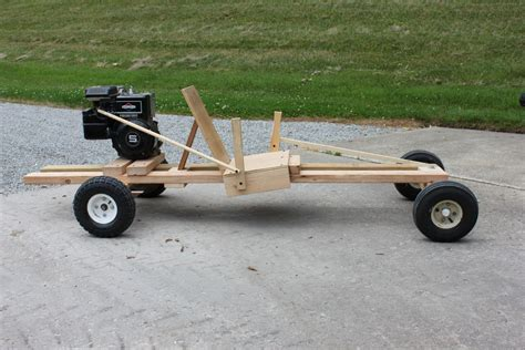 How To Make A Wooden Go Kart With Engine