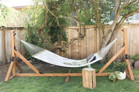 How To Make A Wooden Hammock Stand