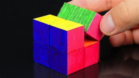 How To Make A Wooden Infinity Cube
