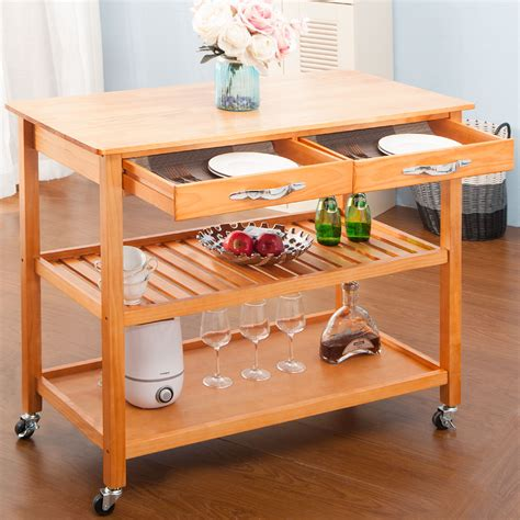 How To Make A Wooden Kitchen Trolley