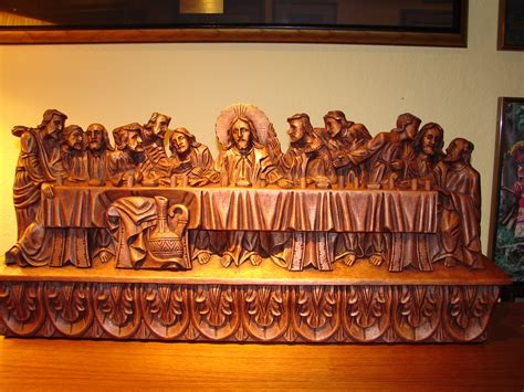 How To Make A Wooden Last Supper