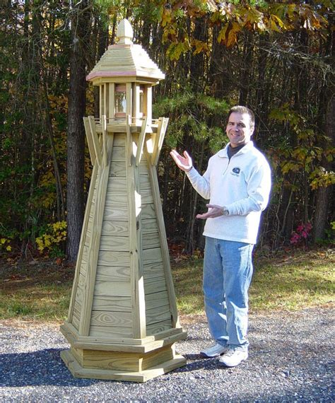 How To Make A Wooden Lighthouse