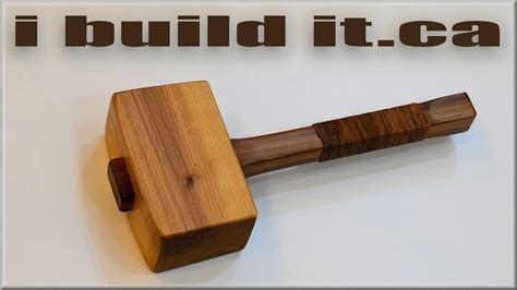 How To Make A Wooden Mallet For Woodworking