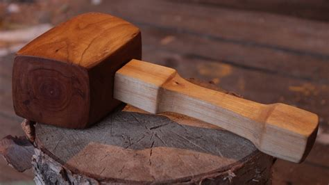 How To Make A Wooden Mallet Youtube