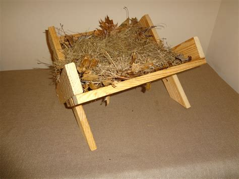 How To Make A Wooden Manger For Baby Jesus