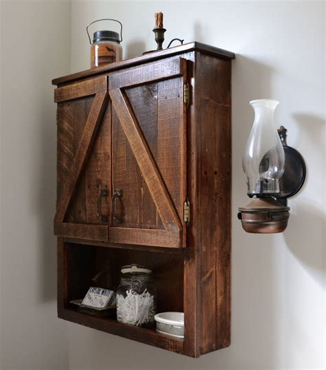 How To Make A Wooden Medicine Cabinet