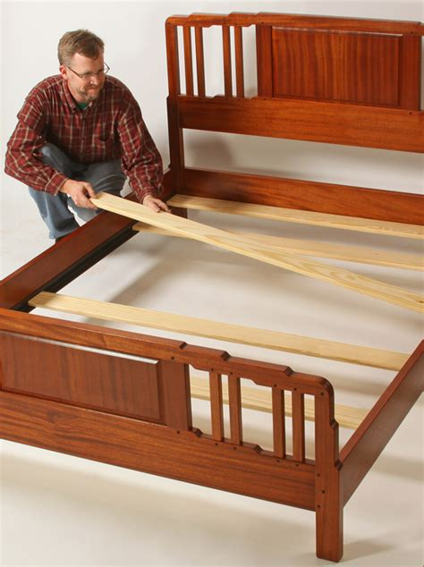 How To Make A Wooden Slat Bed Frame