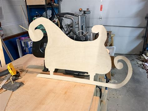 How To Make A Wooden Sleigh And Reindeer
