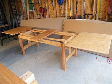 How To Make A Wooden Slide Out Table