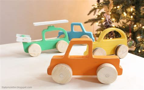 How To Make A Wooden Toy Truck Build