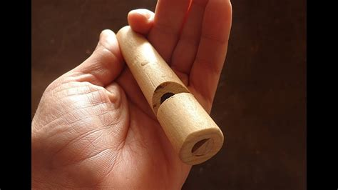 How To Make A Wooden Whistle Work