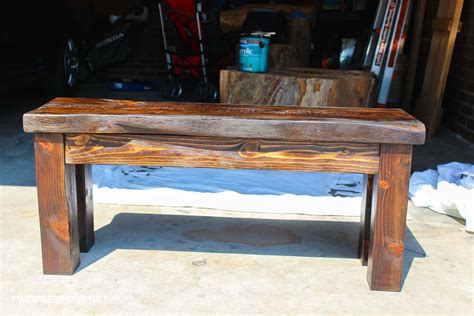 How To Make A Wooden Work Bench