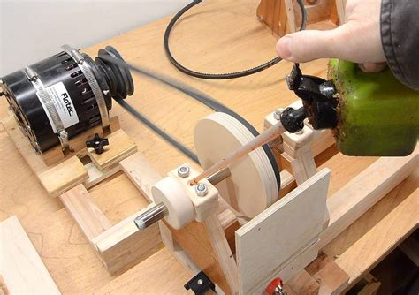 How To Make A Woodturning Lathe Chucks
