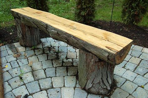 How To Make A Workbench Out Of A Log