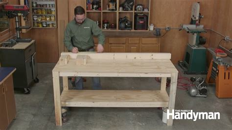 How To Make A Workbench Youtube