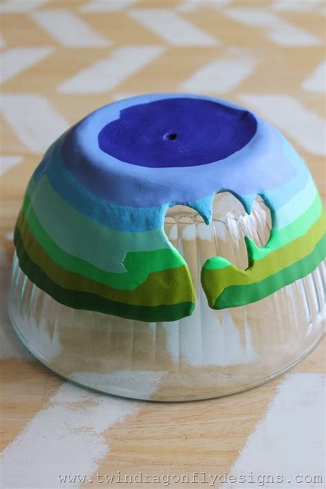 How To Make A Yarn Bowl From Clay