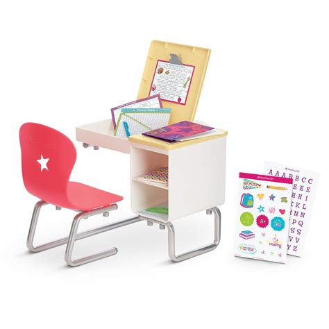 How To Make American Girl Doll School Desk