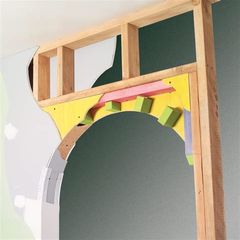 How To Make An Arched Door Frame