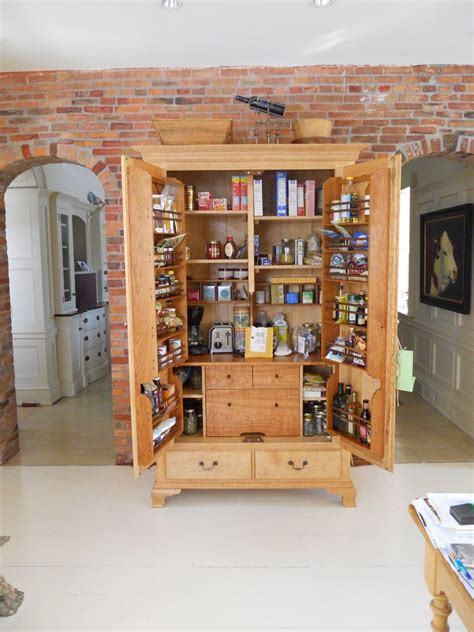 How To Make An Armoire Into A Kitchen Pantry