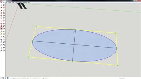 How To Make An Ellipse In Sketchup