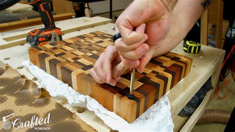 How To Make An End Grain Cutting Board Video