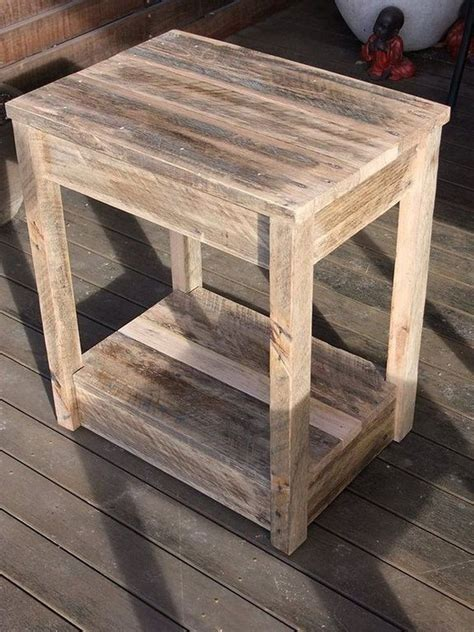 How To Make An End Table Or Night Stand