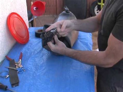 How To Make An Inner Tube Sand Bag