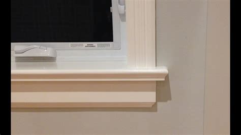 How To Make An Interior Window Sill Replacement