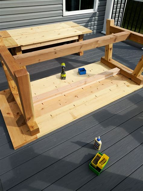How To Make An Outdoor Table Base