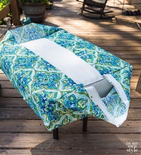 How To Make An Outdoor Table Cover